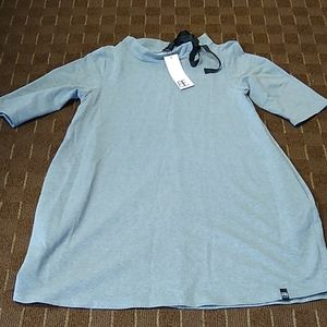 Super stylish and cute grey sweatshirt dress